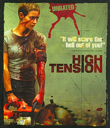 HIGH TENSION BY NAHON,PHILIPPE (Blu-Ray)